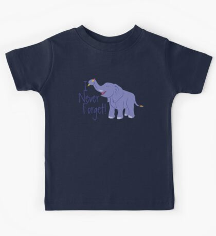 Happy Elephant Kids Tee