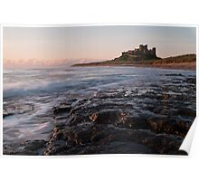 Bamburgh Castle: Northumbria Poster