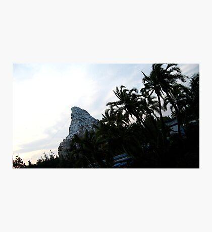 Fantasy Mountain  Photographic Print
