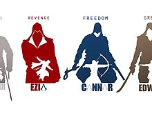 Assassin's Creed Heroes by xxCPaulxx