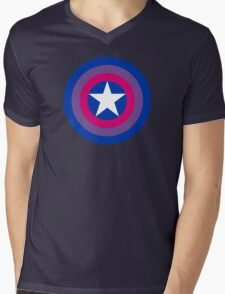 Pride Shields - Bi Mens V-Neck T-Shirt