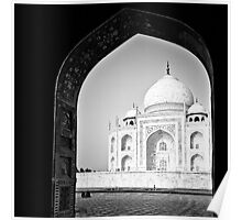 A Mahal with a view - Taj Mahal Poster