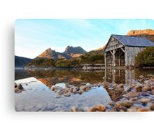 Testing the Waters_Dove Lake Canvas Print
