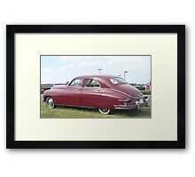 49 Packard Framed Print