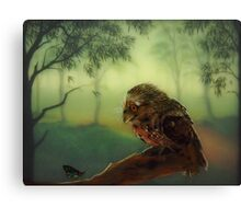 The Curious Visitor Canvas Print