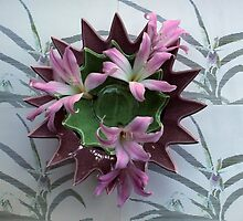 Spiked Bowls Nested by Michael May