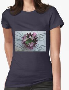 Spiked Bowls Nested Womens Fitted T-Shirt
