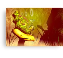 "Hookah-smoking caterpillar from ""Alice in Wonderland"" Canvas Print"