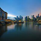Marina Bay & The Sands Hotel. Singapore. by Ralph de Zilva