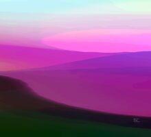 Magenta Sunset by Betty Mackey