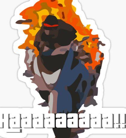 Daveman42's Scream GTA Online Sticker