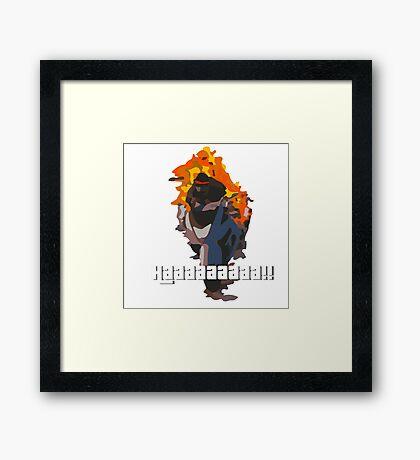 Daveman42's Scream GTA Online Framed Print