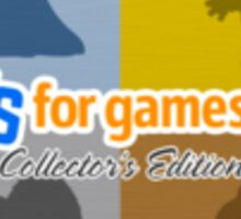 Toys For Games Collector's Edition STICKERS! Sticker