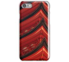 Red Pagoda iPhone Case/Skin