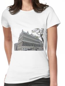 Town Hall, Ghent, Belgium Womens Fitted T-Shirt