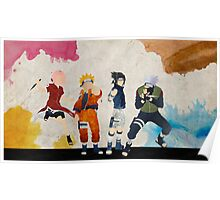 Team 7 - Naruto Poster