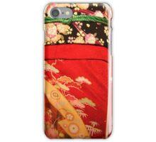 The red kimono iPhone Case/Skin