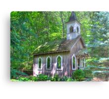 Little Chapel in the Woods Metal Print