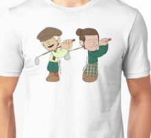 Ni and Haz Golf  Unisex T-Shirt