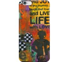 Finding JOY in My Journey iPhone Case/Skin