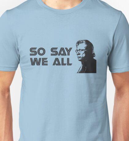Admiral Adama Unisex T-Shirt