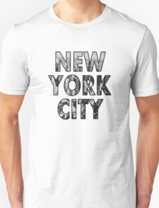 New York City - Black Unisex T-Shirt