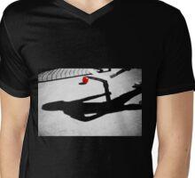Ball Hockey Shadows Mens V-Neck T-Shirt