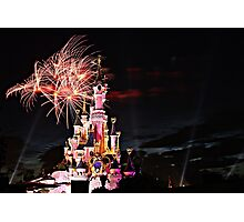 Disneyland Paris  Photographic Print