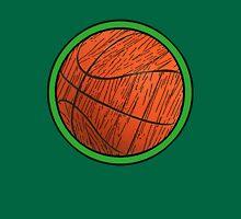 PROUD Celtics FAN!  Woodgrain Basketball Unisex T-Shirt