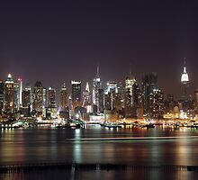 Midtown Manhattan New York City by cvrestan