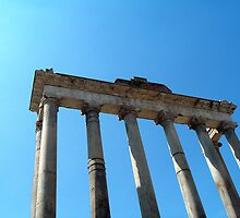 Temple of Saturn by Todd Ecker