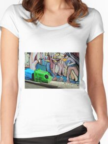 Street Party After Women's Fitted Scoop T-Shirt