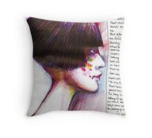 Journal page-dream 2 Throw Pillow