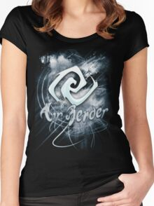 Air Bender Women's Fitted Scoop T-Shirt