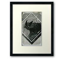 Hunter Lavellan Tarot Card Framed Print