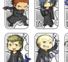 Organization XIII [white] Sticker