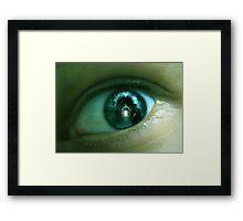 TUNNEL VISION Framed Print