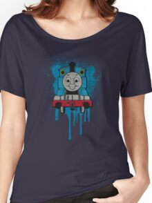 Thomas the Tank Engine Grunge Women's Relaxed Fit T-Shirt