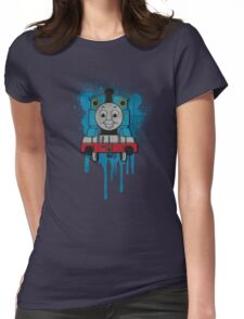 Thomas the Tank Engine Grunge Womens Fitted T-Shirt