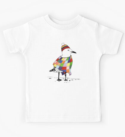 Chilli the Seagull Kids Tee