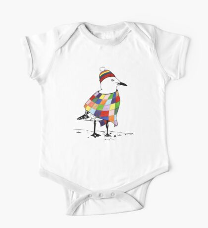 Chilli the Seagull One Piece - Short Sleeve