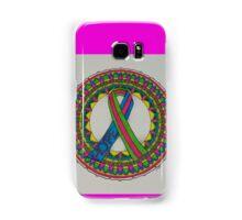 Mandala for Metastatic Breast Cancer Samsung Galaxy Case/Skin
