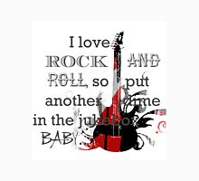 I LOVE ROCK AND ROLL Unisex T-Shirt