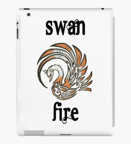 Swan Fire Merchandise iPad Case/Skin