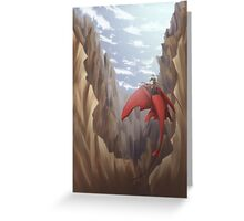 The Crag Greeting Card