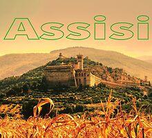 Assisi, Italia by xorbah