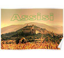 Assisi, Italia Poster