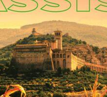Assisi, Italia Sticker