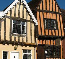 The Crooked House, Lavenham, Suffolk by wiggyofipswich