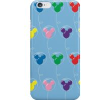 Mickey Balloons with Bubble - Pattern iPhone Case/Skin